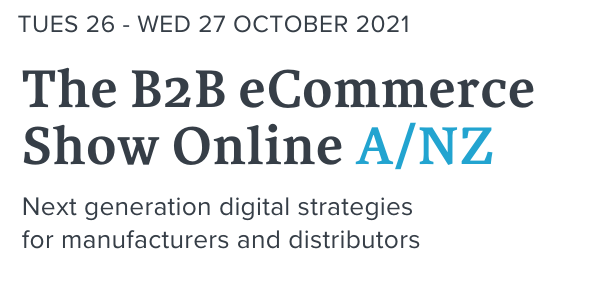The B2B eCommerce Show Online Logo.